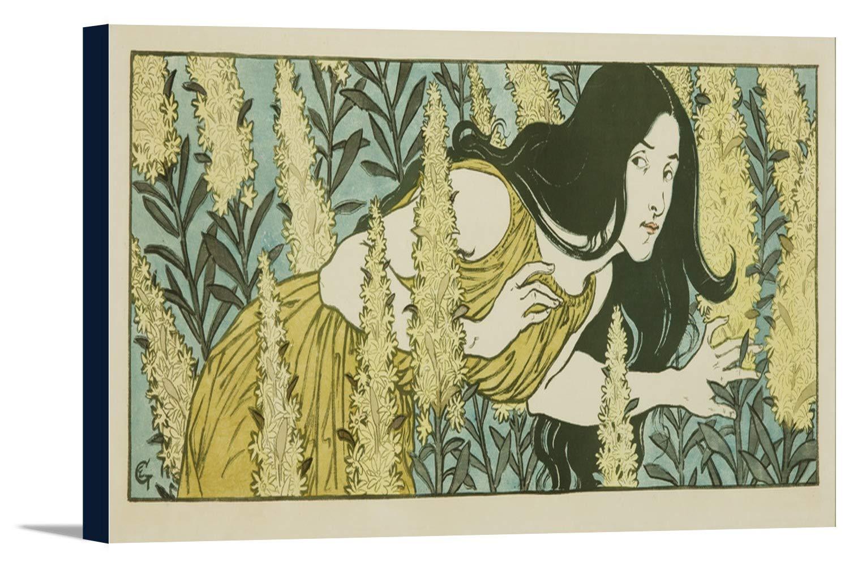 Inquietudeヴィンテージポスター(アーティスト: Grasset )フランスC。1897 36 x 15 7/8 Gallery Canvas LANT-3P-SC-64357-24x36 36 x 15 7/8 Gallery Canvas  B0184ASWL6