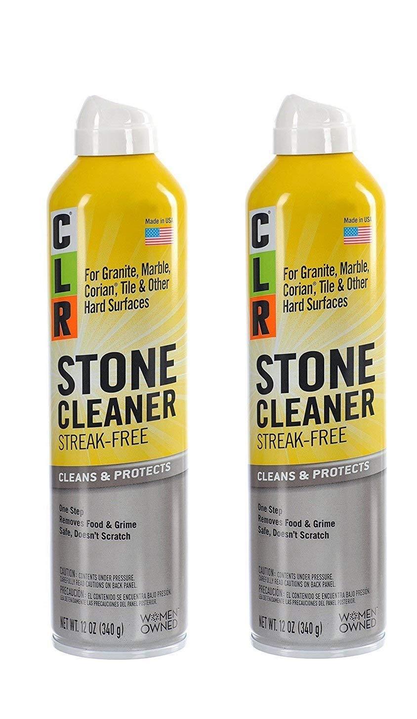 CLR CGS-12 Stone Cleaner, 12 oz Aerosol Spray (2 pack)
