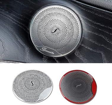 Daetng Car Styling Zubehör Innenverkleidung Mercedes Benz W205 W213 Glc Amg Zubehör Für Mercedes Glc Benz W205 W213 Innenverkleidung Tür Audio Lautsprecherabdeckung Matte Küche Haushalt