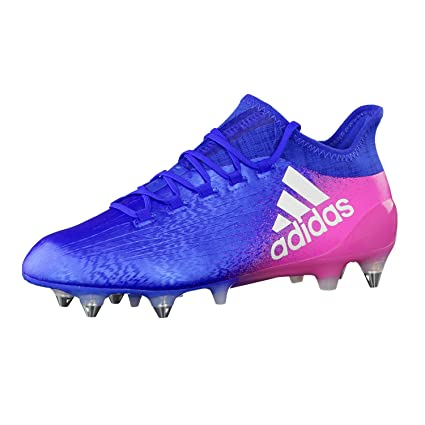 47f24214e85 Amazon.com  adidas Performance Mens X 16.1 SG Football Boots - Blue ...