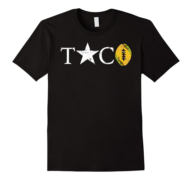 Epic Taco Football Star T-Shirt, Vintage-T-Shirt