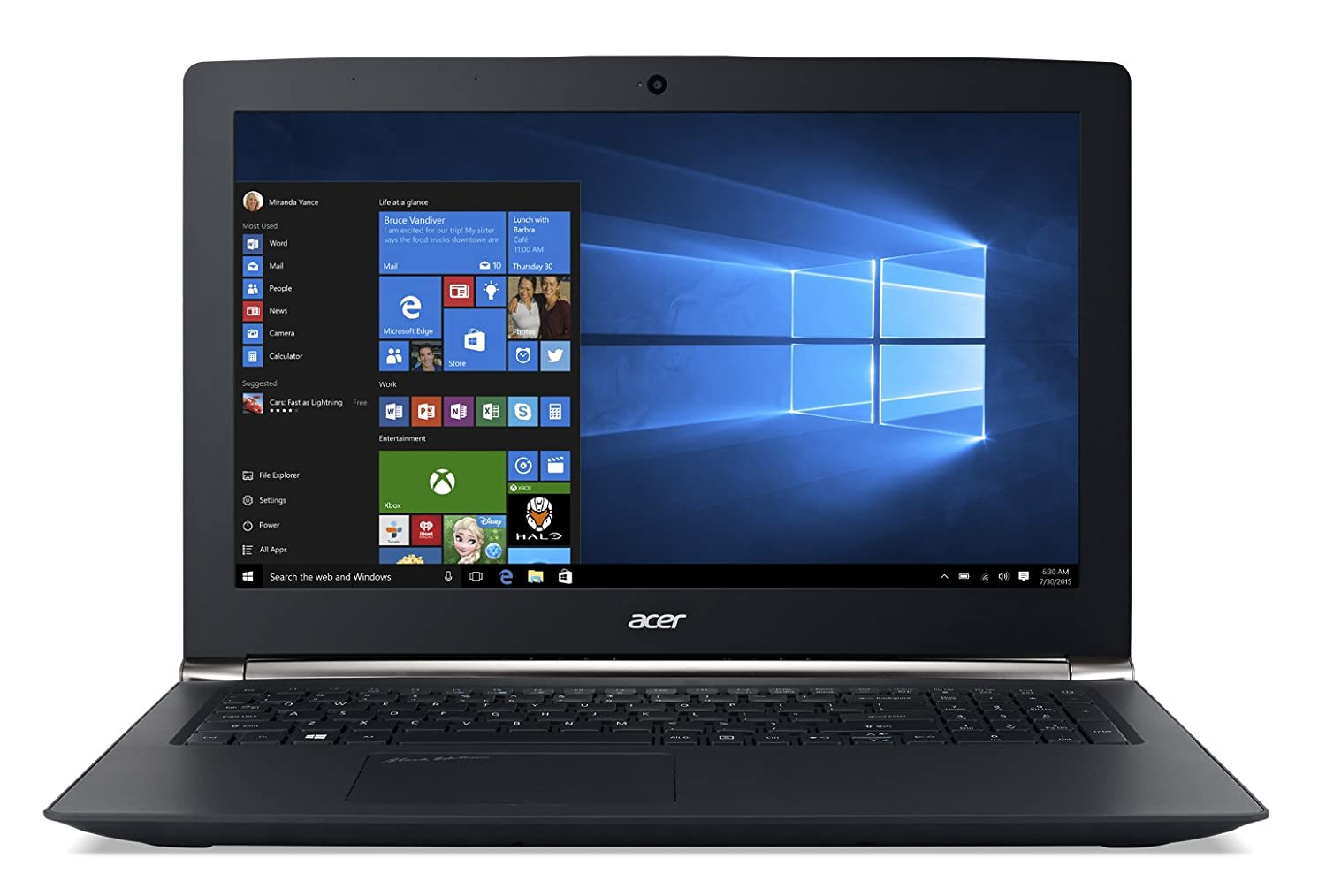 Acer Aspire V15 Nitro Black Edition VN7-592G-71ZL 15.6-inch Full HD,...