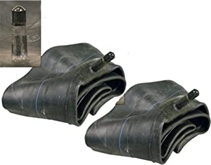 Pack of 2 (two) Firestone 26X12-12, 26x12.00-12, 24X12-12, 24x12.00-12 Lawn Garden Bias Implement Inner Tube with TR13 Straight Valve Stem