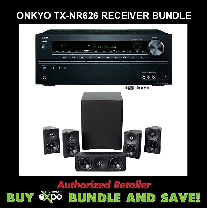 Amazon com: Onkyo TX-NR626 7 2-Channel Network Audio/Video