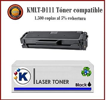 KONVER Toner Compatible K111 - Cartucho de tóner láser para ...