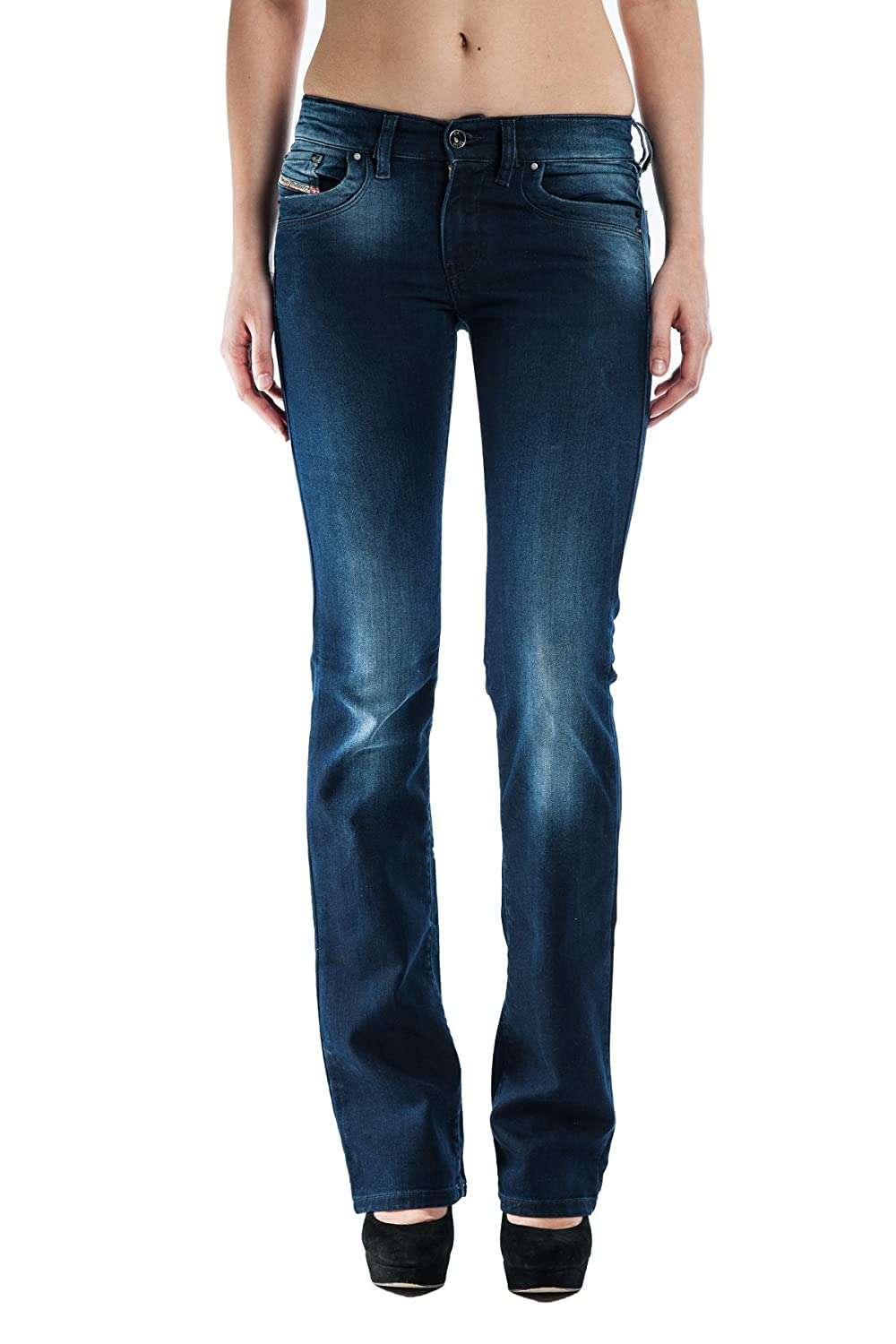 Women's Diesel RONHOIR 0885H Normal Rise Bootcut Denim