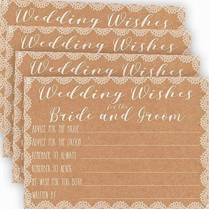 706fdf84e878 Amazon.com  Wedding Advice Cards