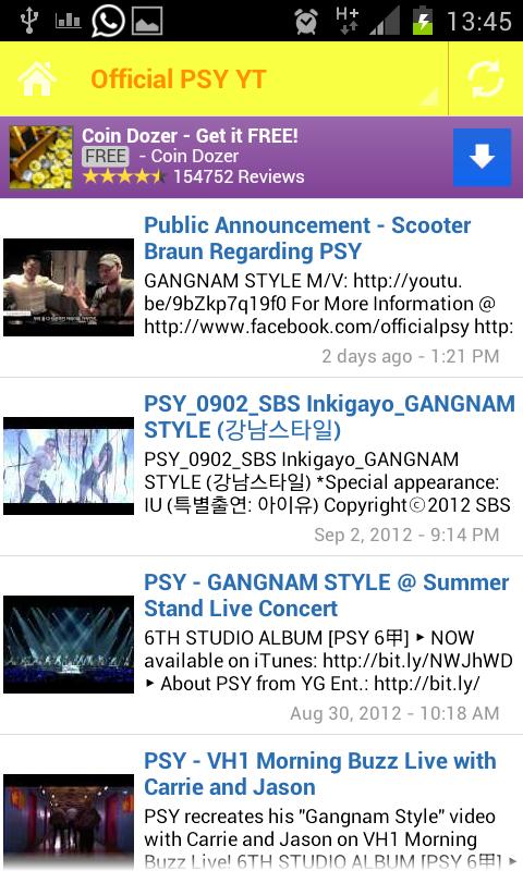 Gangnam Style Ringtones