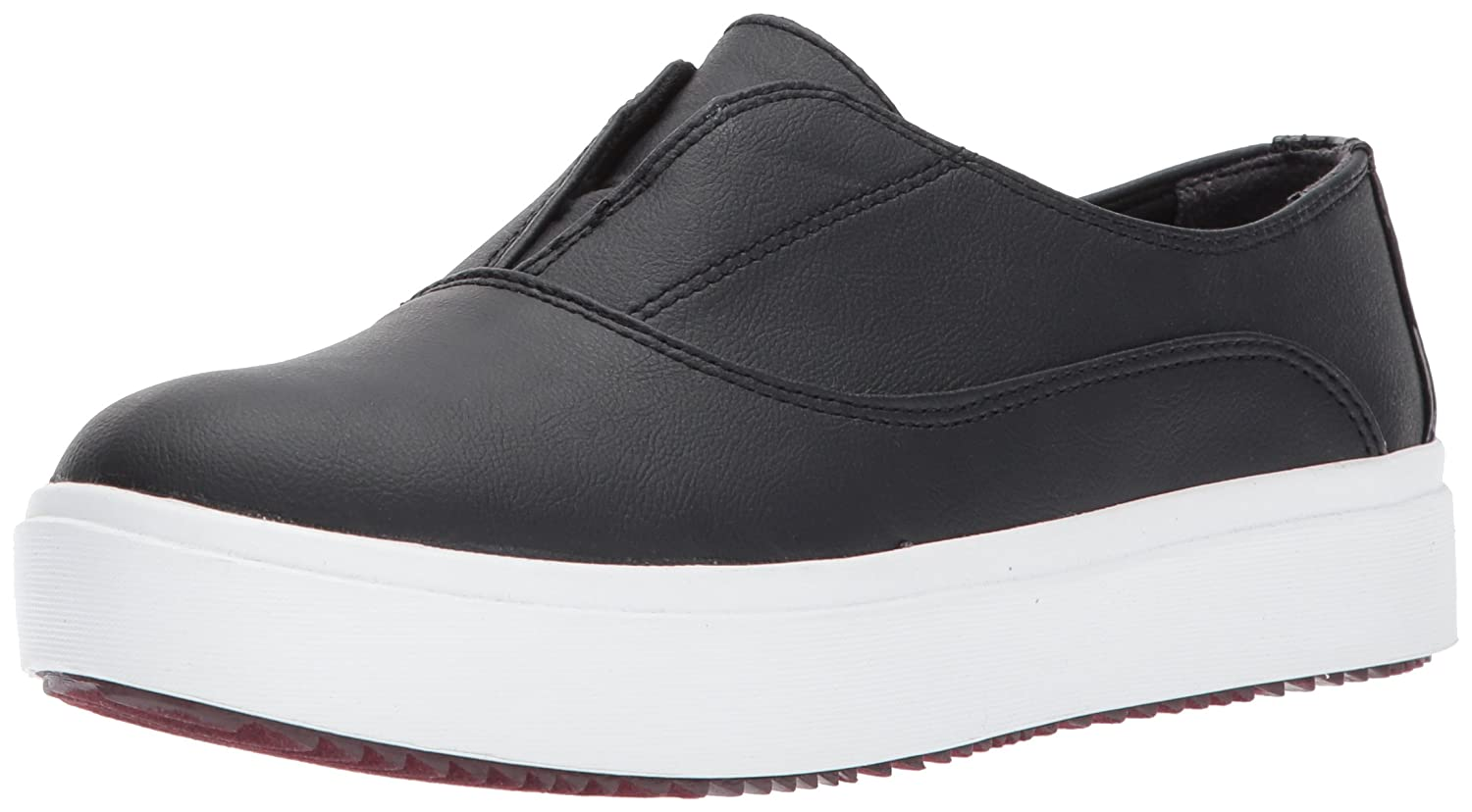 Dr. Scholl's Shoes Women's Brey Fashion Sneaker B072KYKMMP 6.5 B(M) US|Black Stretch