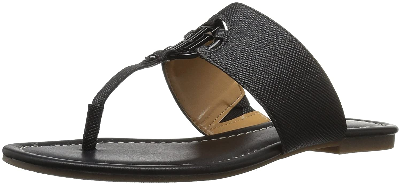 Tommy Hilfiger Women's Sia Slide Sandal B01LY04BPG 12 B(M) US|Black
