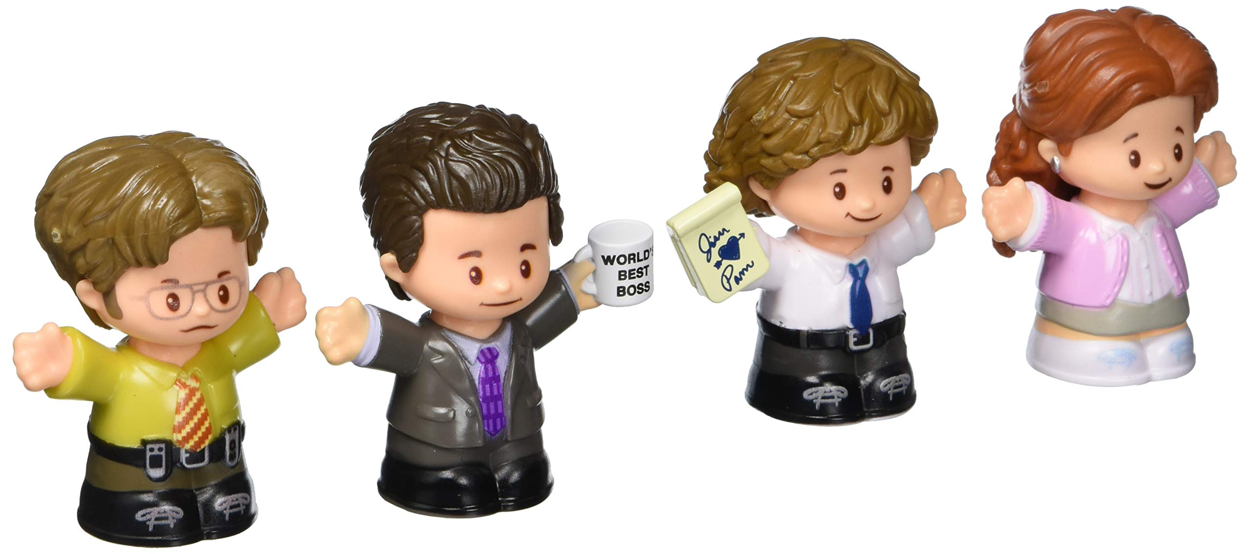 Fisher-Price Little People The Office Figures Multi