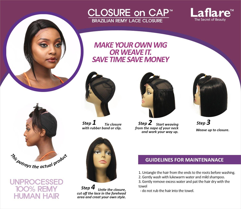 Amazon Laflare Unprocessed Brazilian Virgin Remy Human Hair