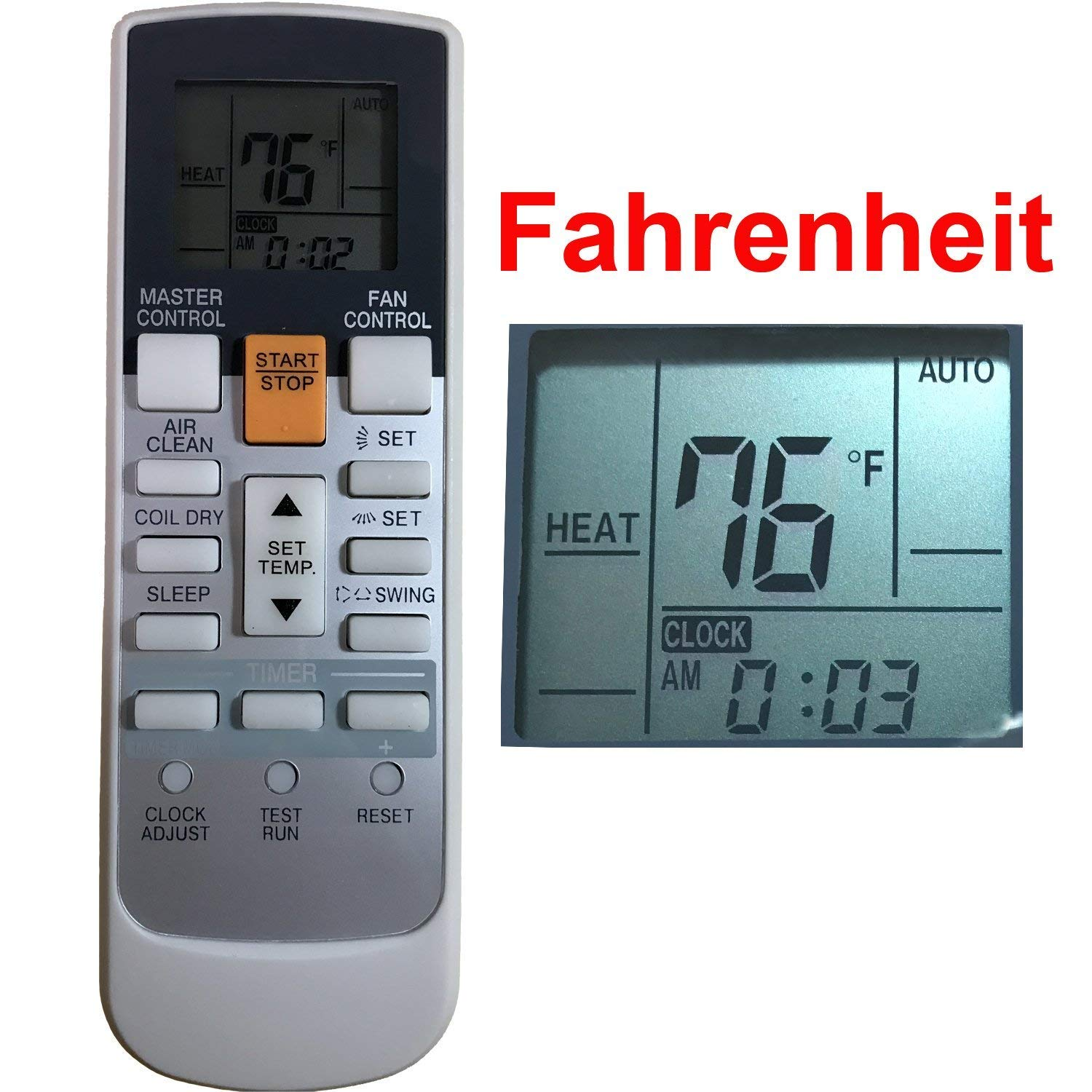 Air conditioner Parts Replacement for Fujitsu Air Conditioner Remote Control Ar-Rah2u Ar-Rah1u Ar-Rae2u Ar-Rae1u Ar-Ry3 Ar-Ry4 Ar-Ry5 Ar-Ry6 Ar-Ry7 Ar-Ry10 Ar-Ry11 Ar-Ry12 Ar-Ry14 Ar-Ry15 Ar-Ry16 Ar-Ry17 Ar-Ry19 .. ..