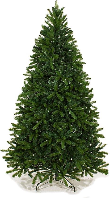Albero Di Natale 210.Joy Christmas Albero Di Natale Dallas 210 Cm Abete Artificiale Con Rami In Silicone E Pvc Amazon It Casa E Cucina