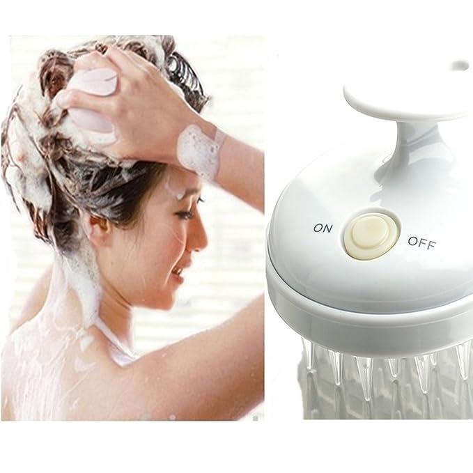1 opinioni per Massaggiatore per cuoio capelluto elettrico e impermeabile