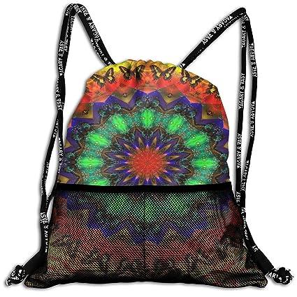 dd9645371b1 Amazon.com: MODREACH Men & Women Sport Gym Sack Drawstring Backpack ...