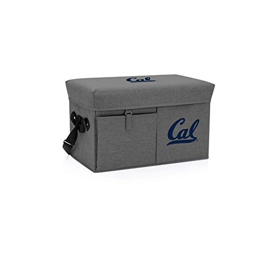 Picnic Time Cal Bears - Nevera y Asiento otomano (Gris): Amazon.es ...