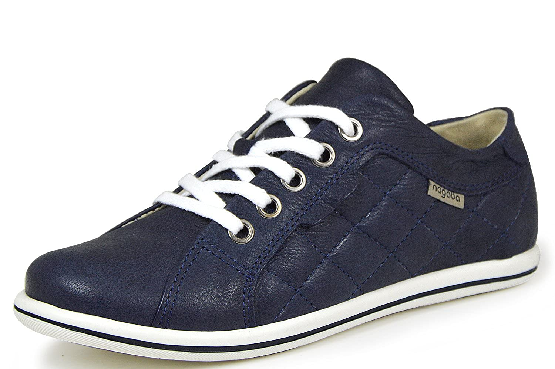 Nagaba 16N3195 Damen Schnürschuhe Turnschuhe Blau