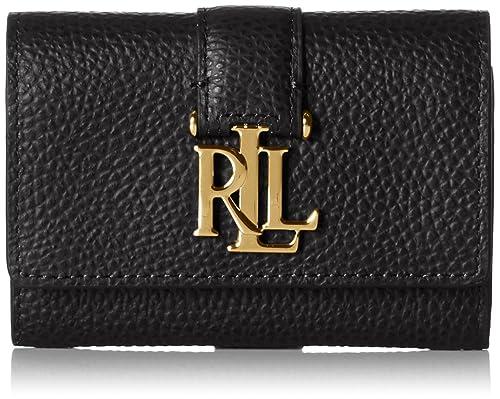 timeless design fbb1f 0f268 Ralph Lauren, Portafoglio Donna, Nero (Nero (Black 000 ...