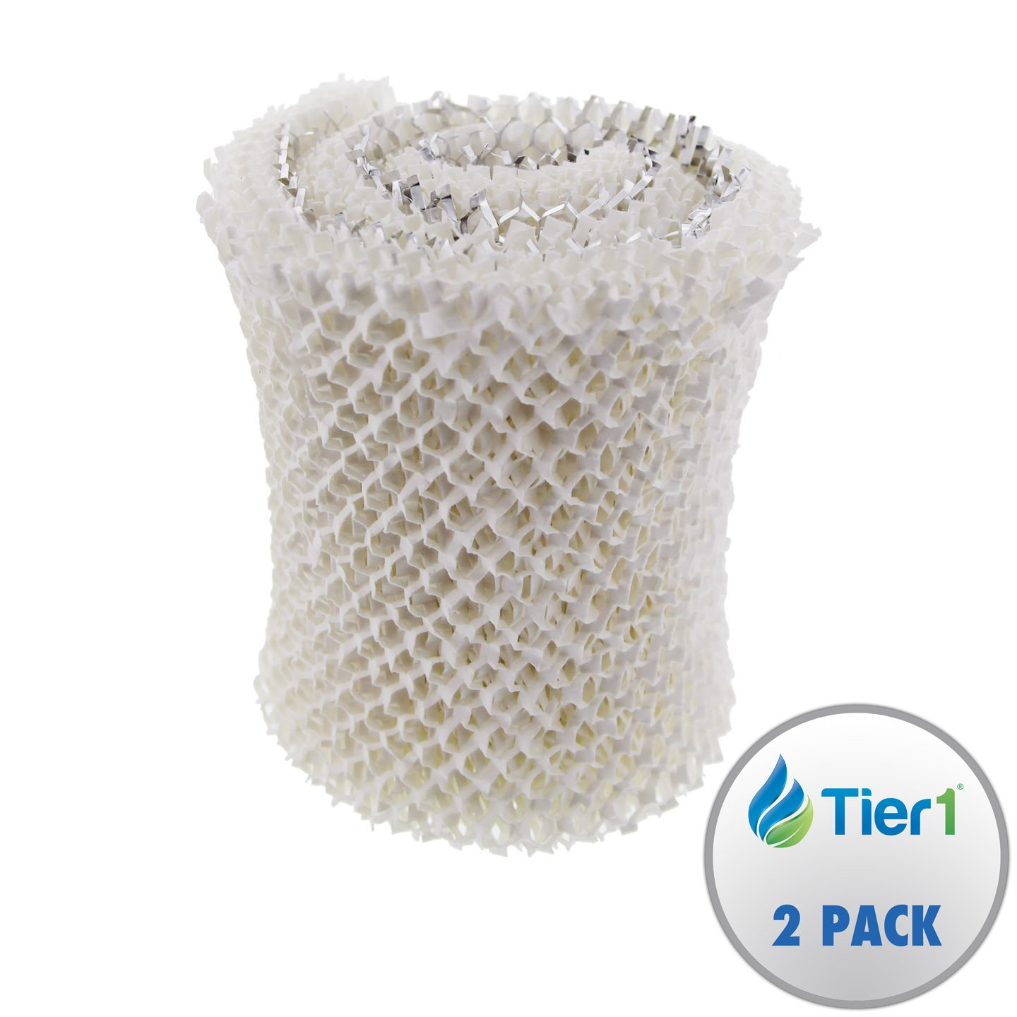 Tier1 MAF1 Comparable 14906 Replacement Humidifier Wick Filter for Emerson Models MA-0950, 1200, 1201 (2-pack)