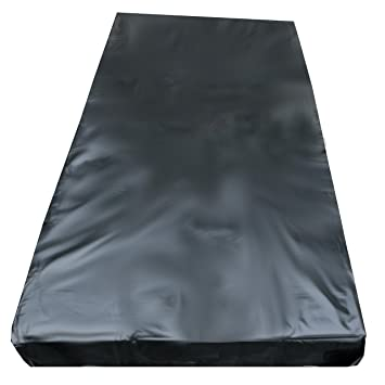 Vinyl mattress cover fetish