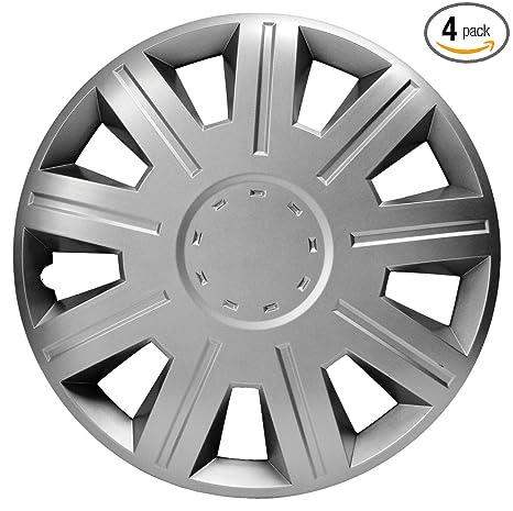 Amazon.com: Tapacubos Versaco para ruedas, ajuste universal ...