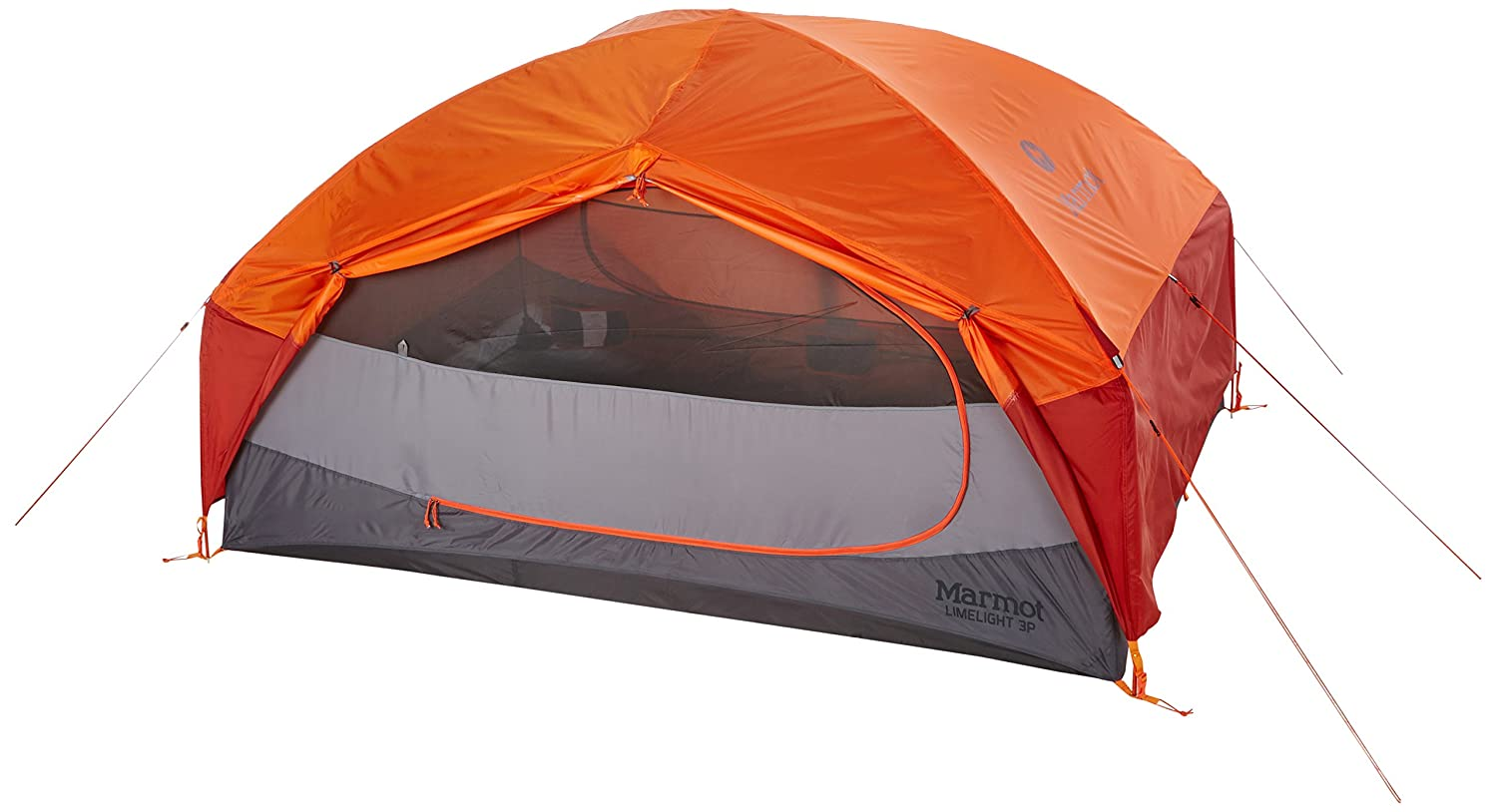 Amazon.com  Marmot Unisex Limelight 3P Tent Cinder/Rusted Orange Tent One Size  Sports u0026 Outdoors  sc 1 st  Amazon.com & Amazon.com : Marmot Unisex Limelight 3P Tent Cinder/Rusted Orange ...