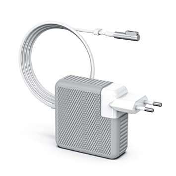 BETIONE Cargador MacBook Pro, Cargador MacBook, 85W MagSafe 1 Forma de L Adaptador de Corriente Funciona con los Macbook 45W / 60W / 85W MacBooks 13