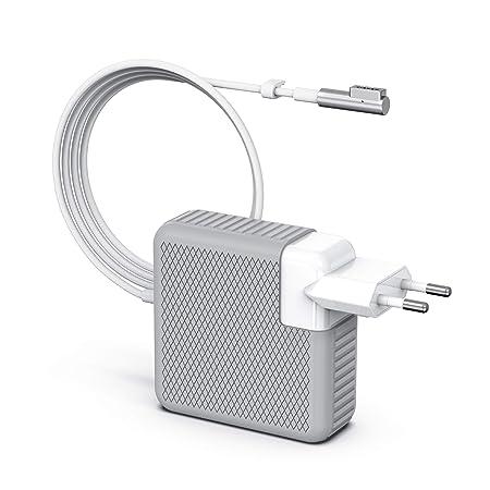 BETIONE Cargador MacBook Pro, Cargador MacBook, 85W MagSafe 1 Forma de L Adaptador de Corriente Funciona con los Macbook 45W / 60W / 85W MacBooks 13