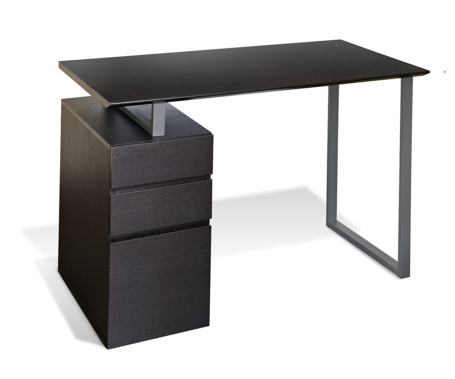 Unique Furniture 220-ESP Writing Desk with Drawers - Espresso