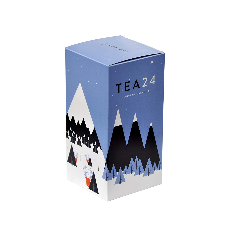 Tea 24 Tea Advent Calendar Christmas Countdown Gift Tea Revv