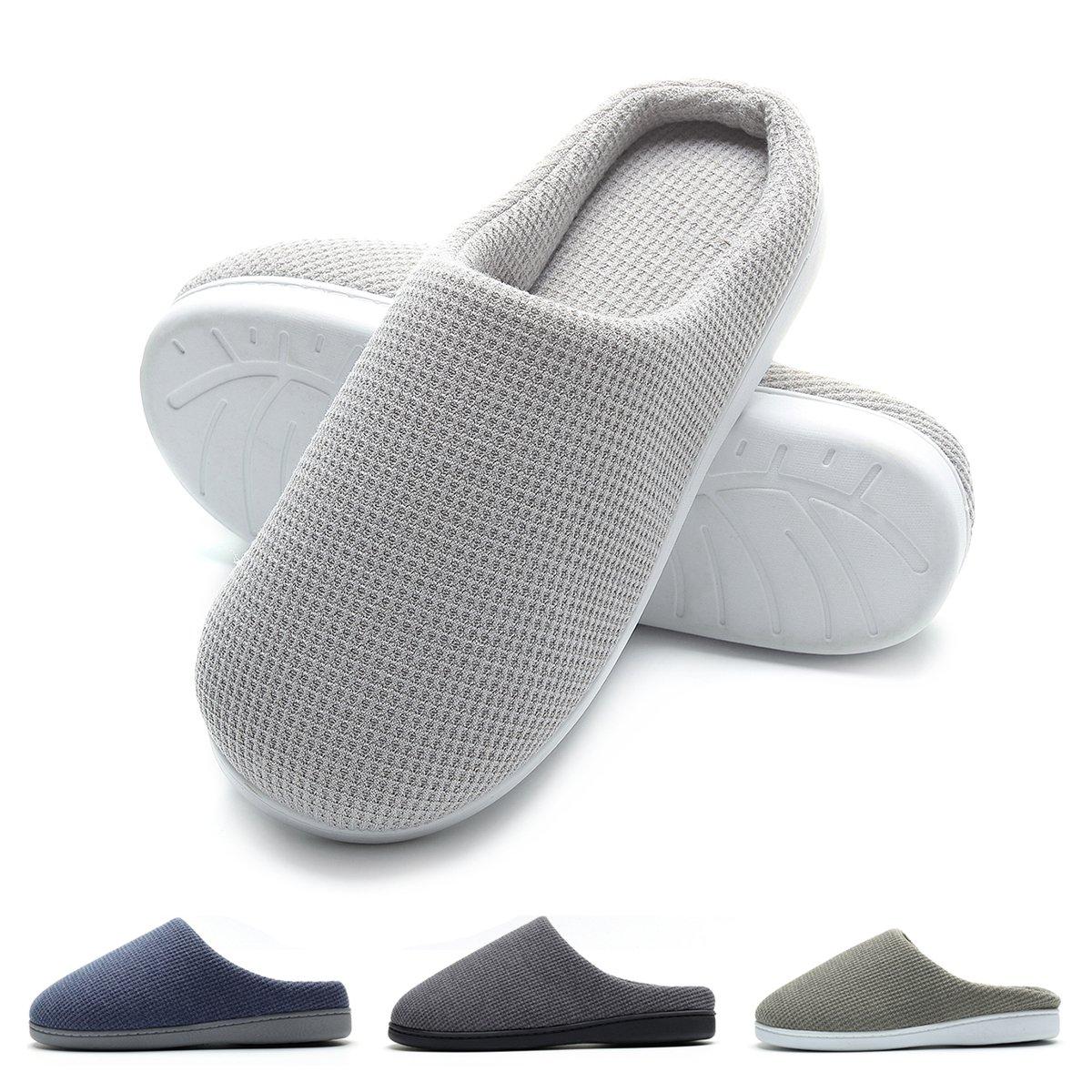 TALLA 42/43 EU. Zapatillas de casa de Hombre, Ultraligero cómodo y Antideslizante, Zapatilla de Estar por casa para Hombre