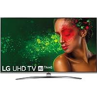 "LG 55UM7610PLB - Smart TV 4K UHD de 139 cm (55"") con Alexa Integrada, Inteligencia Artificial (Panel IPS, HDR, webOS 4.5, Asistente de Google, Procesador Quad Core, Sonido DTS Virtual:X) Color Acero"