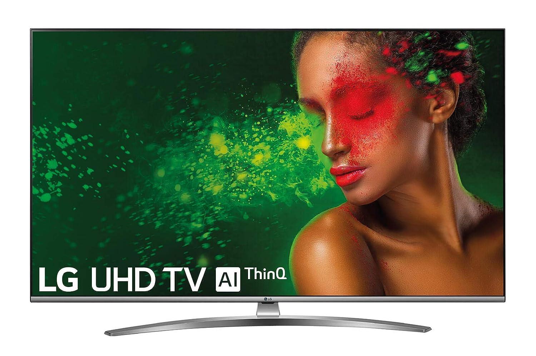 "LG 65UM7610PLB - Smart TV 4K UHD de 164 cm (65"") con Alexa Integrada, Inteligencia Artificial (Panel IPS, HDR, webOS 4.5, Asistente de Google, Procesador Quad Core, Sonido DTS Virtual:X) Color Acero"