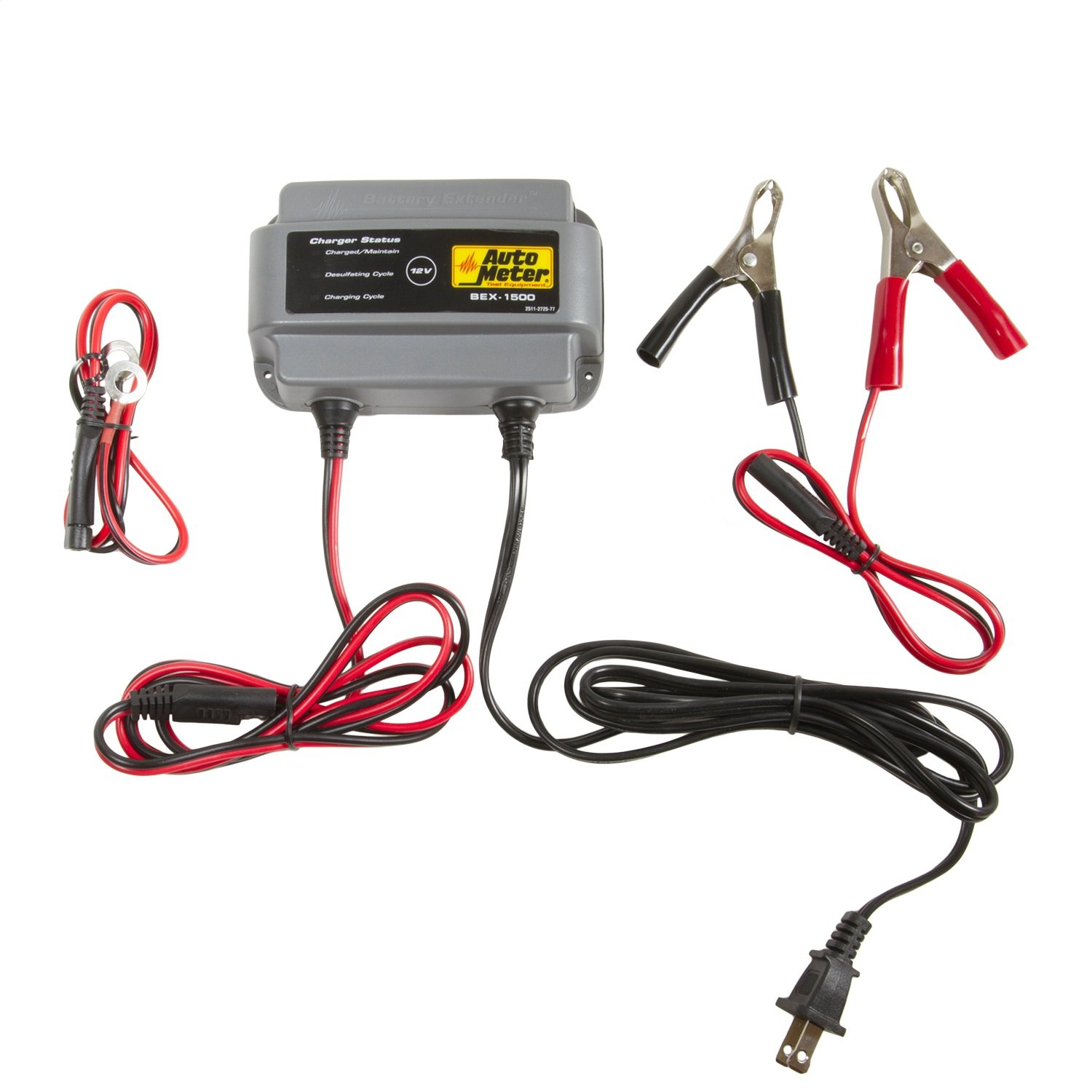 Auto Meter BEX-1500 BEX Series 1.5 Amp Battery Charger/Maintainer by Auto Meter