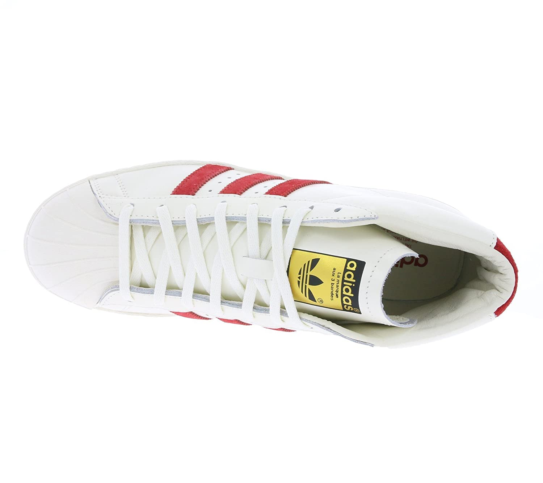 adidas originals pro model vintage dlx sneaker weiß b35248