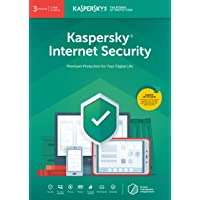 Kaspersky Internet Security 2020 | 3 Devices | 1 Year | Antivirus and Secure VPN Included | PC/Mac/Android | Online Code