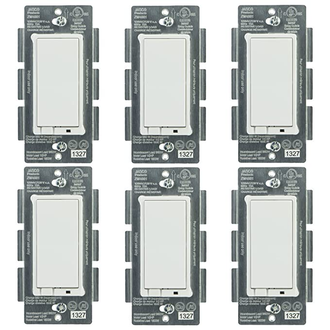 Jasco 45609 Z-Wave Wireless Lighting Control On/Off Switch (6-Pack) - - Amazon.com