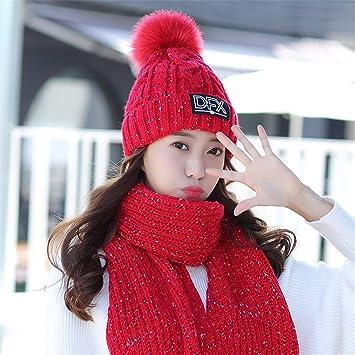 Gxinyanlong Sombrero de Invierno, Bufanda, Chaqueta, abrigado ...