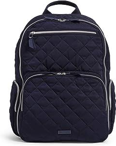 Vera Bradley Performance Twill Commuter Backpack, Classic Navy