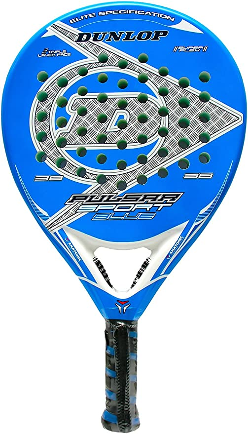 Pala de pádel - Dunlop Pulsar Sport Blue 2015: Amazon.es: Deportes ...