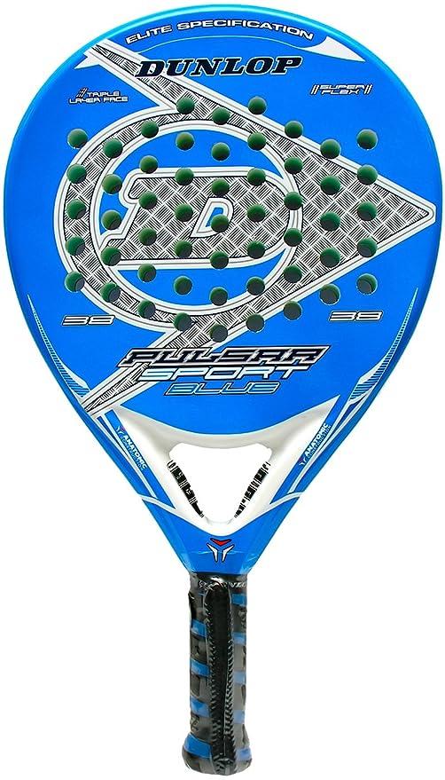 Pala de pádel - Dunlop Pulsar Sport Blue 2015: Amazon.es ...