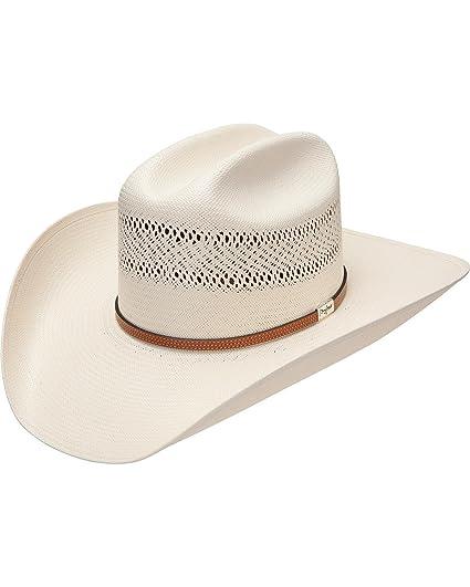 9bfb6295278 Resistol Men s George Strait Colt 10X Straw Cowboy Hat - Rscolt-3042 ...