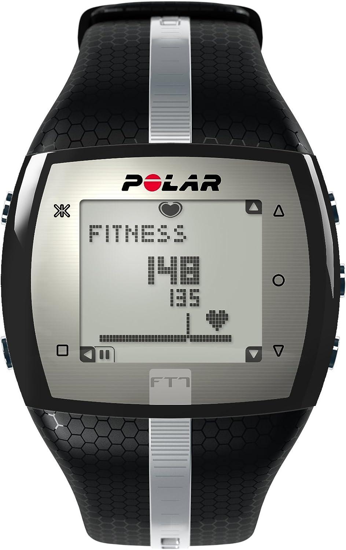 Polar FT7 - Reloj con pulsómetro e indicador de efecto del entrenamiento para fitness y cross-training, color negro y plata (Black/Silver): Amazon.es: Deportes y aire libre