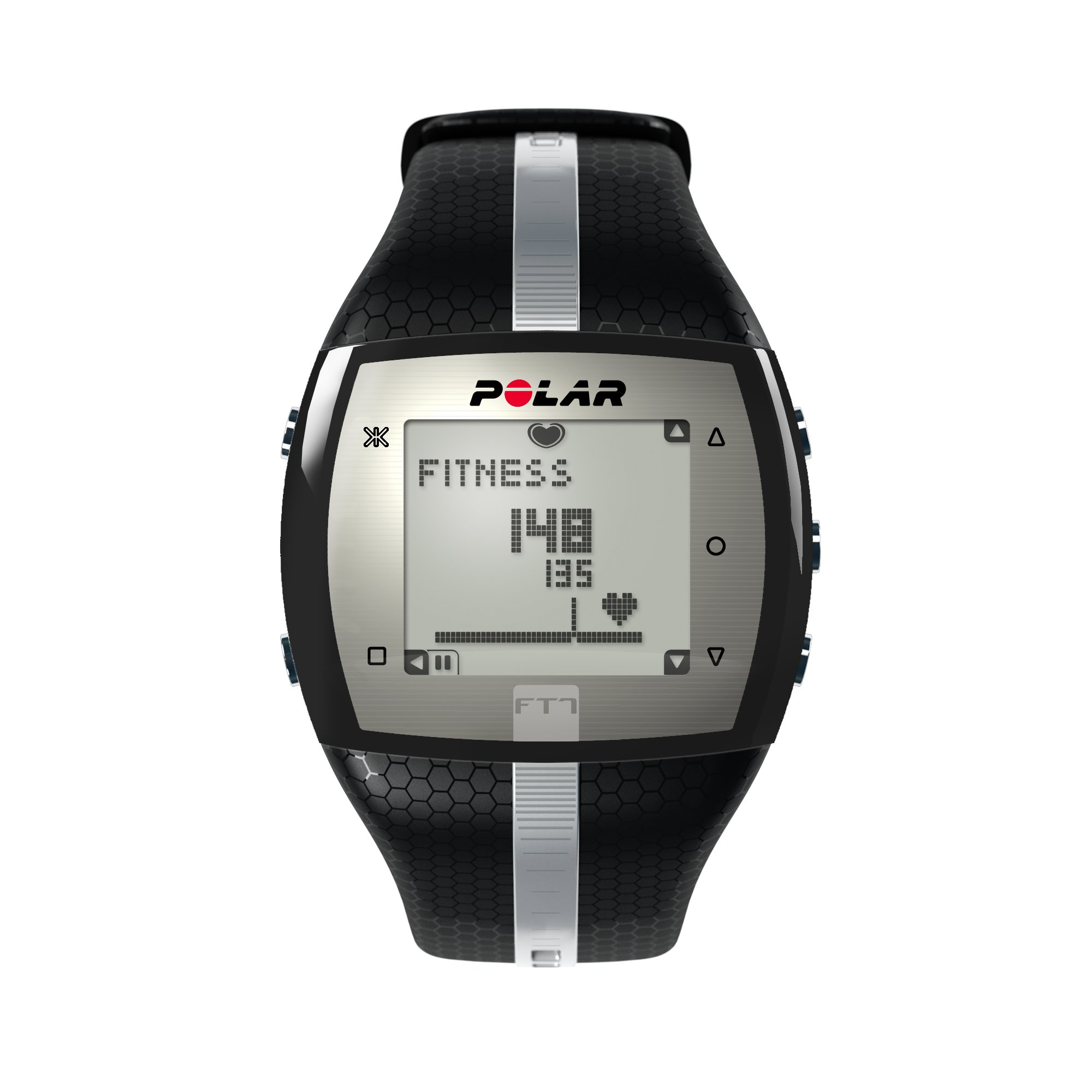 Polar FT7 Heart Rate Monitor, Black/Silver