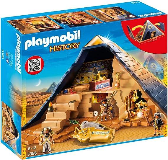 Playmobil Pirámide del Faraón 5386: Amazon.es: Juguetes y juegos