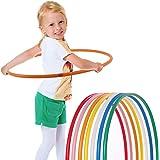 Hoopomania® Hula Hoop pour les enfants, différentes couleurs, Ø 80/75/70/65/60 cm