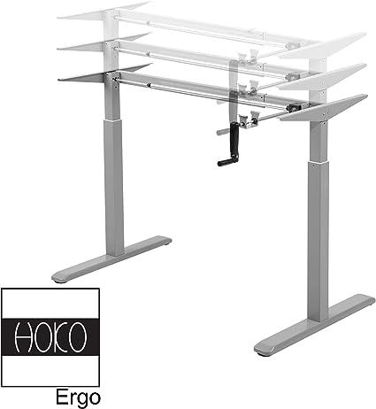 HOKO Ergo-Work-Table Basic - Patas de Escritorio (Altura Regulable ...