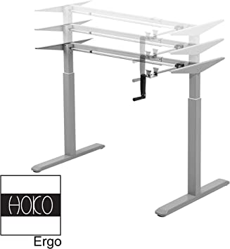 HOKO Ergo-Work-Table Basic - Patas de Escritorio (Altura Regulable ...