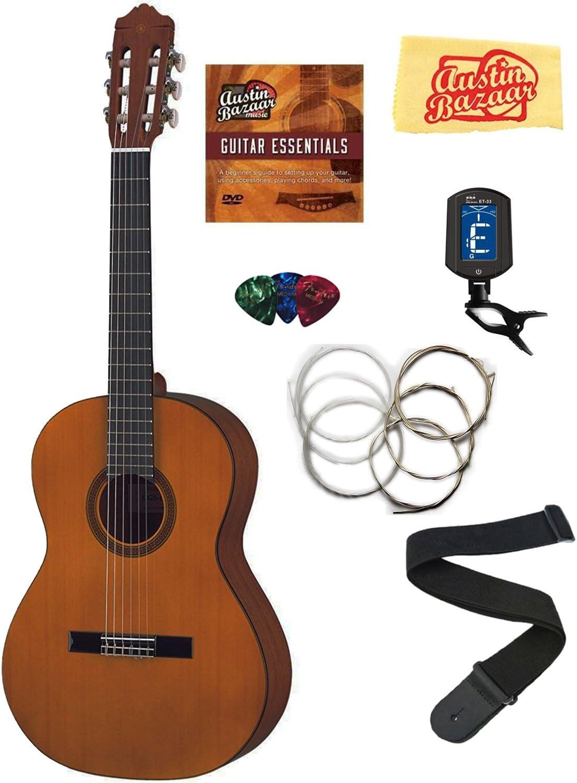 Yamaha cgs103 a 3/4 – Guitarra clásica Bundle con DVD de ...